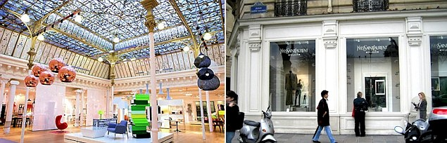 Paris luxury shopping