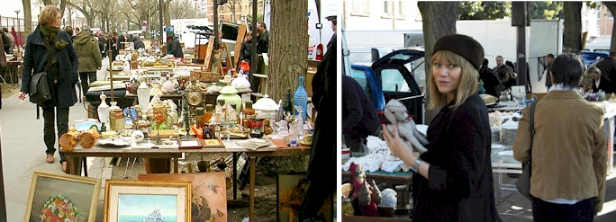 Hunt like a pro at a Paris Flea Market!