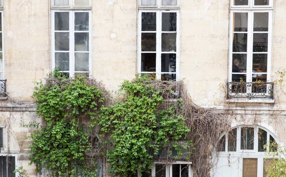 Courtyard Marais Authentic